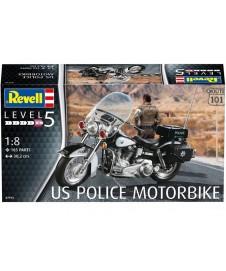 Motorbike Us Police