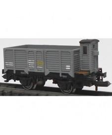 Vagon Abierto Borde Alto Con Garita Gris