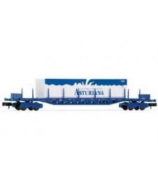 Vagon Plataforma Rgs Renfe Contenedor Clas 40
