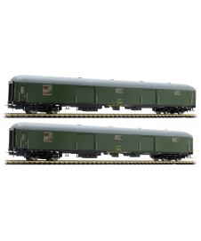 Set 2 Furgones Tipo Dd-8100 Verde
