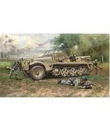 Sd.kfz 10 Demag D7 German Paratrops