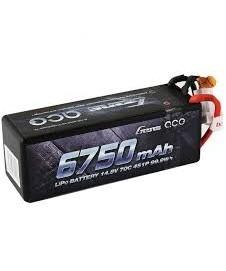 Bateria Lipo 14,8 V. 6750 Ma. 70 C.