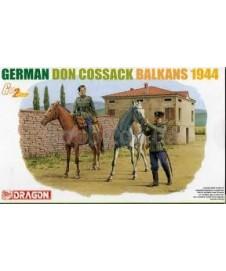 German Don Cossacks Balkans 1944