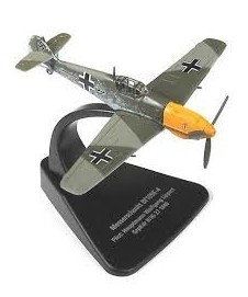 Messerschmitt Bf 109e-4 Avion Metalico