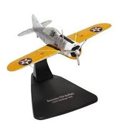 Brewster Buffalo Uss Saratoga 39 Avion Metalico