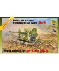 Anti-tank Gun Britis 6-pdr