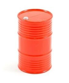 Bidon Aceite Rojo 200 L.
