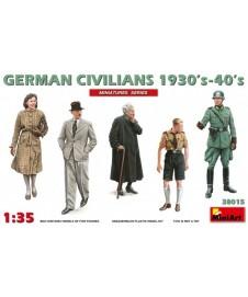 German Civilians 1930-40