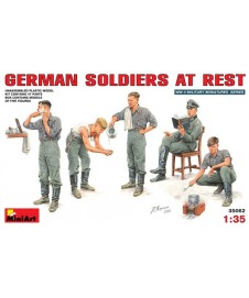 German Soldiers At Rest