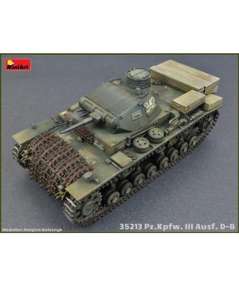 Tanque Pz. Kpfw. Iii Ausf D/b