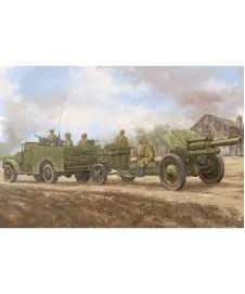 M3a1 Version Tow 122 Mm. M-30