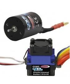 Set Brushless Par 1/10 60 A.