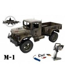 Camion Rc. Militar 1/12 Usa