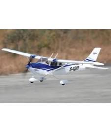 Cessna 182 Rtf Azul Completa Con Bat. Y Cargador