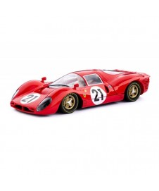 Ferrari P4 Lemans 1967 2nd