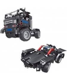 Rc 2 En 1 Camion Y Coche Bateria 486 P
