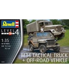 M34 TACTICAL TRUCK OFF-ROAD VEHICLE