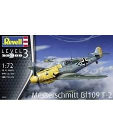 MESSERSCHMITT BF109 F-2, CON PINTURAS