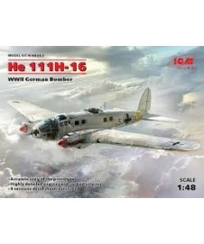He 111h-16 Wwii German Bomber