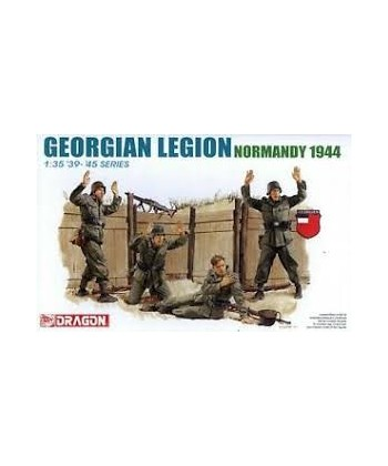GEORGIAN LEGION NORMANDY 1944