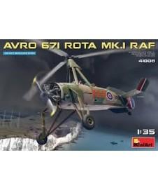 HELICOPTERO AVRO 671 ROTA M.K. RAF