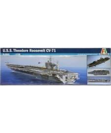 U.S.S. THEODORE ROOSVELT CVM-71