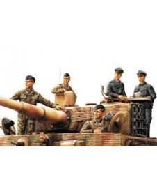 GERMAN PANZER TANK CREW NORMANDY 1944
