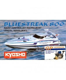 LANCHA GP BLUE STREAK 800 C/GS15 MONTADA CON EMISORA VOLANTE 2.4